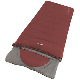 Outwell Contour Lux Sleeping Bag, red